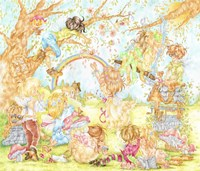 The Faerie Haven Fine Art Print