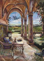 Loggia In The Valley Fine Art Print