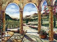 Sedona Portico Fine Art Print