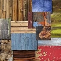 Layered Wood Fine Art Print