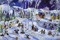 Holy Winter Fun Fine Art Print
