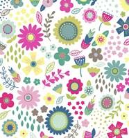 Floral Pattern 1 Fine Art Print