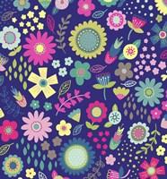 Floral Pattern 2 Fine Art Print