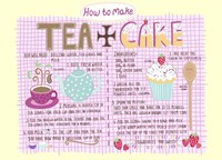 Tea And Cake Fine Art Print