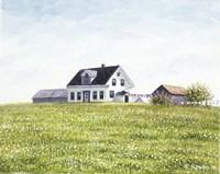 Nova Scotia Farmhouse Fine Art Print