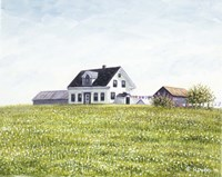 Nova Scotia Farmhouse Fine Art Print