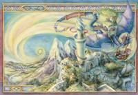 Arrive By Dragon Fine Art Print