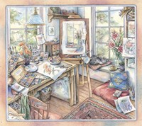 Artist's Studio Fine Art Print