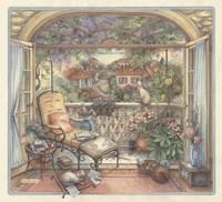 Balcony Fine Art Print