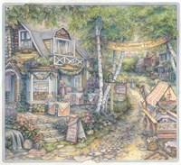 Cobblestone Inn Fine Art Print