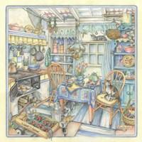 Cottage Kitchen Fine Art Print