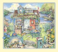 Morningside Cottage Fine Art Print