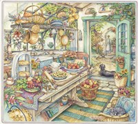 Pie Kitchen Fine Art Print