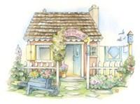 Rose Cottage Fine Art Print