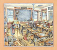 Schoolroom Fine Art Print
