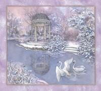 Snow Pavilion Fine Art Print