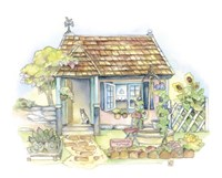 Sweet Water Cottage Fine Art Print
