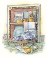 Tea Tray Fine Art Print