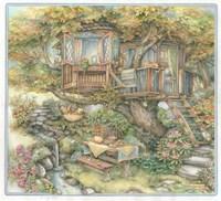 Tree House Fine Art Print