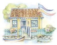 Water Side Cottage Fine Art Print