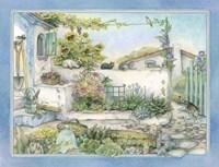 White Wall Garden Fine Art Print