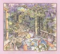 Wisteria Arbor Fine Art Print
