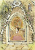 Church Door Fine Art Print