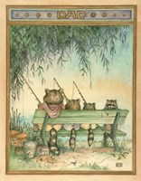 Happy Fishing Fine Art Print