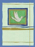 Dove Collage Fine Art Print