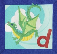 ABC D Fine Art Print