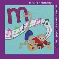 M is For Monkey Fine Art Print