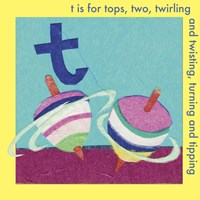 T is For Top Framed Print