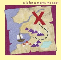 X marks The Spot Fine Art Print