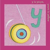 Y is For Yoyo Fine Art Print