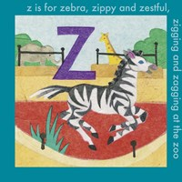 Z is For Zebra Fine Art Print