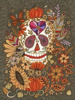 Autumn Skull Fine Art Print