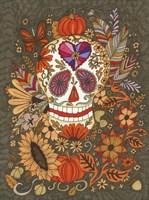 Autumn Skull Fine Art Print