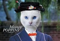 Meowy Poppins Fine Art Print