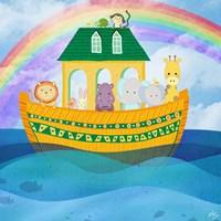 Noahs Ark Fine Art Print