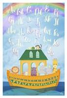 Alphabet Ark Fine Art Print