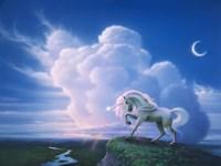 Rainbow Unicorn Fine Art Print