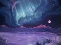 Snowfield Illumination Fine Art Print