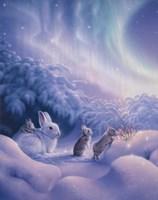 Snuggle Bunnies Fine Art Print
