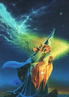 The Wizard Fine Art Print
