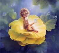 Baby First Light Fine Art Print