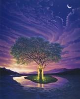 Gaia, Earth's Angel Fine Art Print