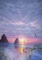 Radiant Seashore Fine Art Print