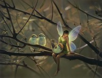 Feathered Friends - C Fine Art Print