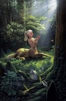 Forest Princess Fine Art Print
