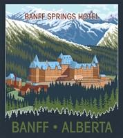Banff, Alberta Fine Art Print